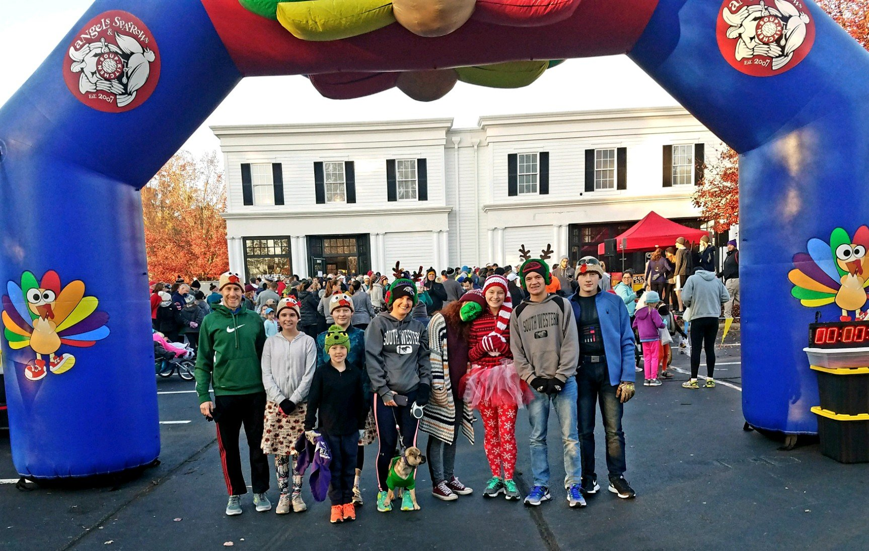 Never Too Late for a Turkey Trot Report