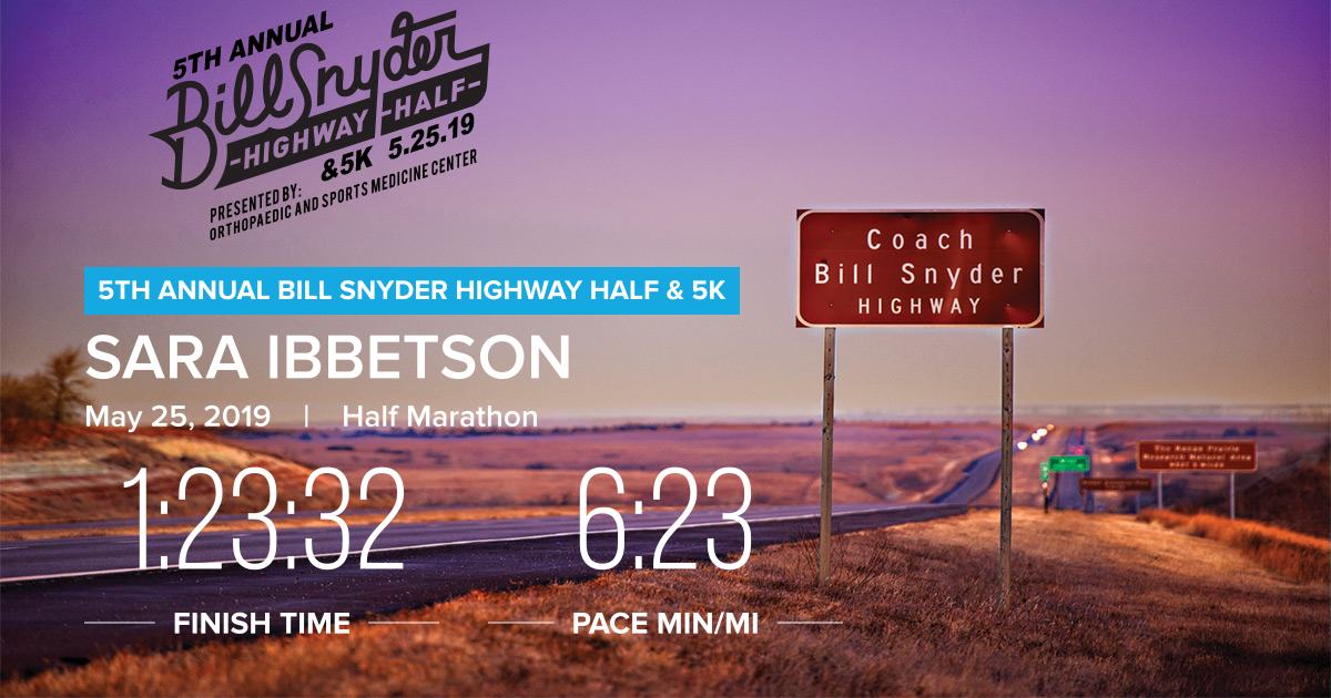 Bill Snyder Highway Half Marathon: It may have been a bad idea, but I'd probably do it again!