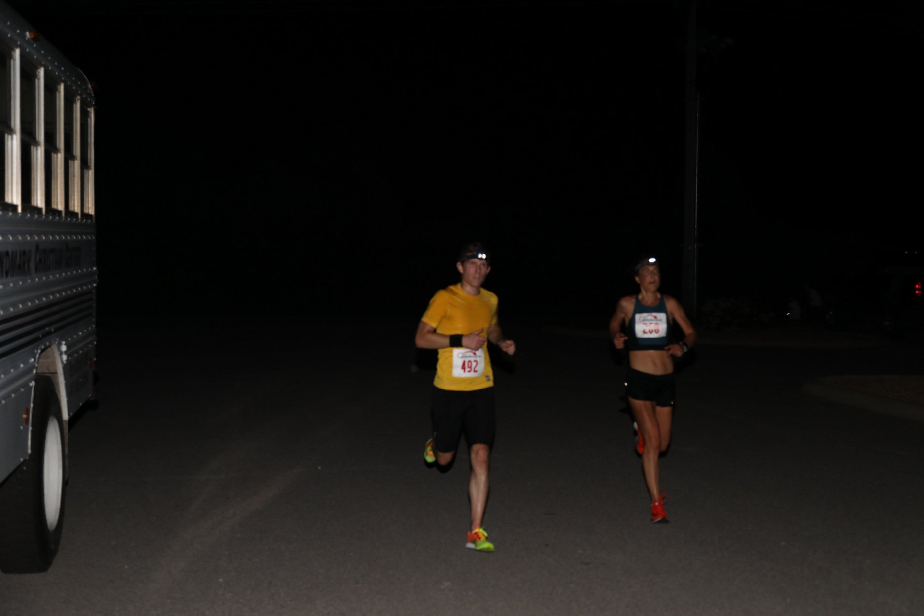 Sweatfest:  The race lived up to its name!