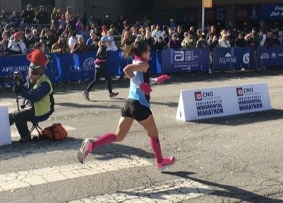 Windy in Indy:  Triumph & Heartbreak at the CNO Indianapolis Monumental Marathon